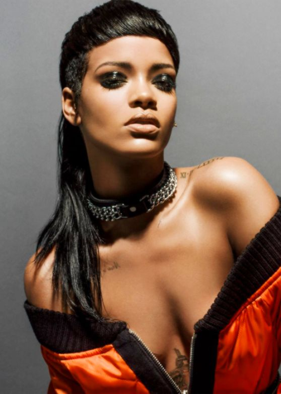 Rihanna Photoshoot for  032C Magazine Winter 2013/2014