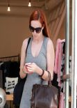 Rumer Willis Street Style - Shopping in LA