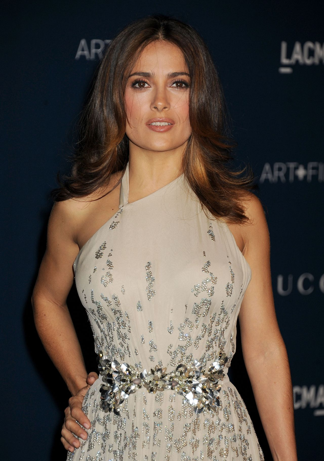Salma Hayek at 2013 LACMA Art and Film Gala in Los Angeles