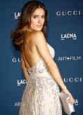 Salma Hayek on Red Carpet – 2013 LACMA Art and Film Gala in Los Angeles