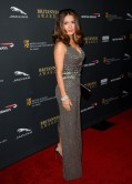 Salma Hayek on Red Carpet – 2013 BAFTA LA Jaguar Britannia Awards