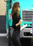 Salma Hayek on set of HOW TO MAKE LOVE LIKE AN ENGLISHMAN in Los Angeles