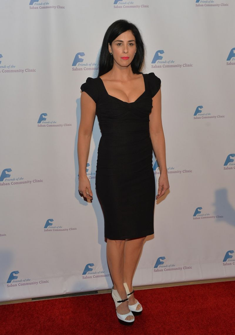 Sarah Silverman at 37th Annual Saban Community Clinic Gala in Beverly Hills