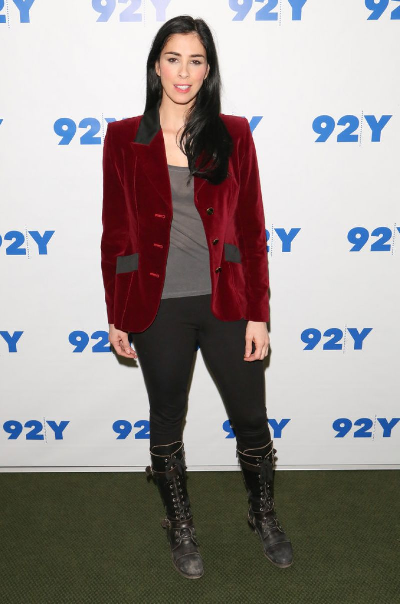 Sarah Silverman at 92Y in New York City - November 2013