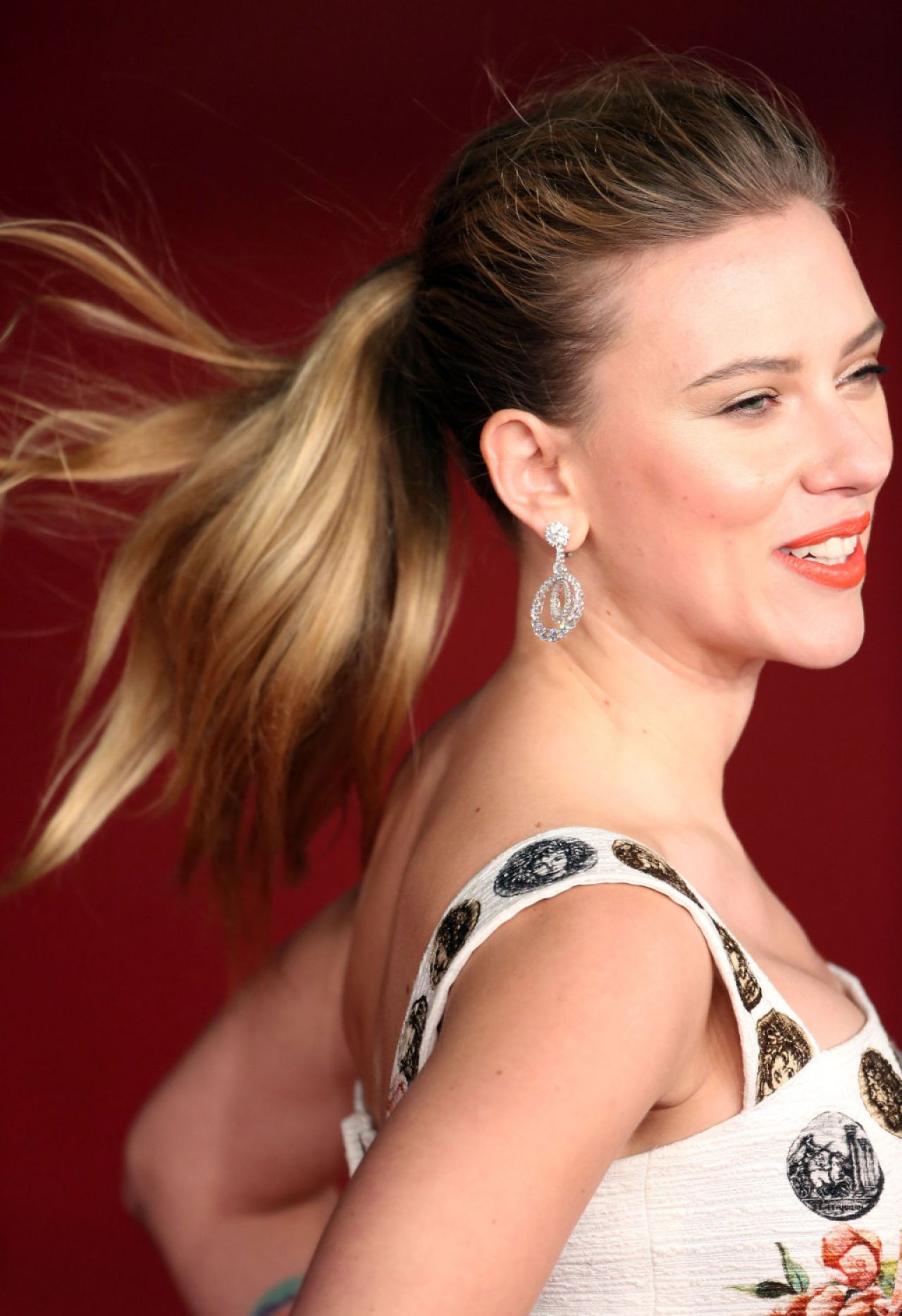 Scarlett Johansson Red Carpet Photos - HER Movie Premiere in Rome