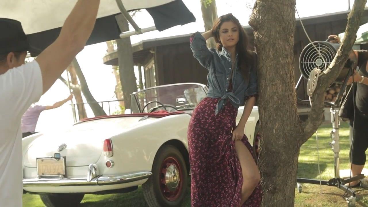Selena Gomez Teen Vogue December 2013 Photoshoot