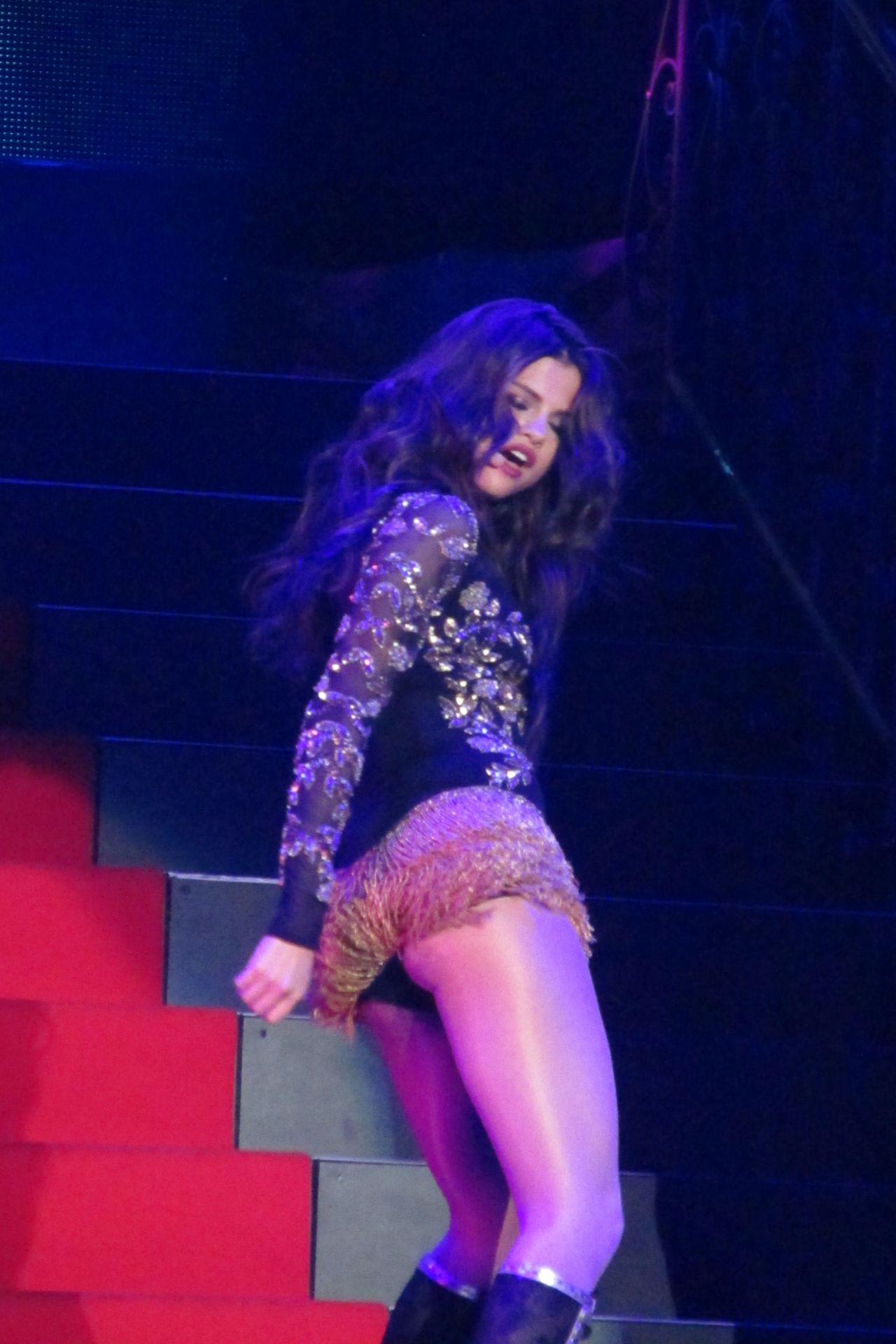 Selena Gomez Performing at Her Stars Dance Concert Tour in Las Vegas