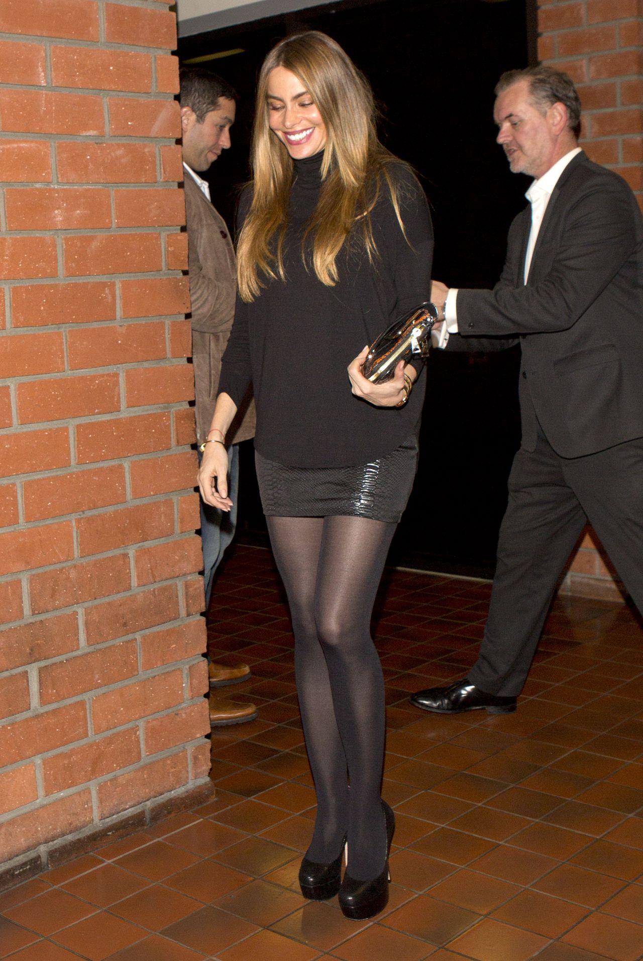 Sofia Vergara Style - Leaving