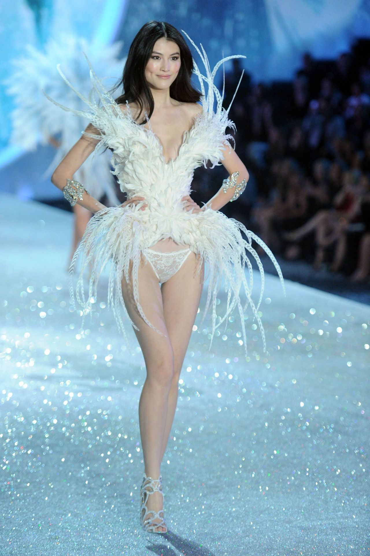 b0c4b37f8bd Sui He Walks the Runaway at Victoria s Secret Fashion Show in New York City  – November 2013