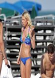 Tara Reid in a Bikini - Vacation in Miami - November 2013