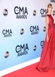 Taylor Swift  in Red on Red Carpet - 47th Annual CMA Awards