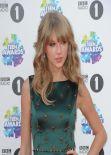 Taylor Swift on Red Carpet - BBC Radio 1 Teen Awards in London