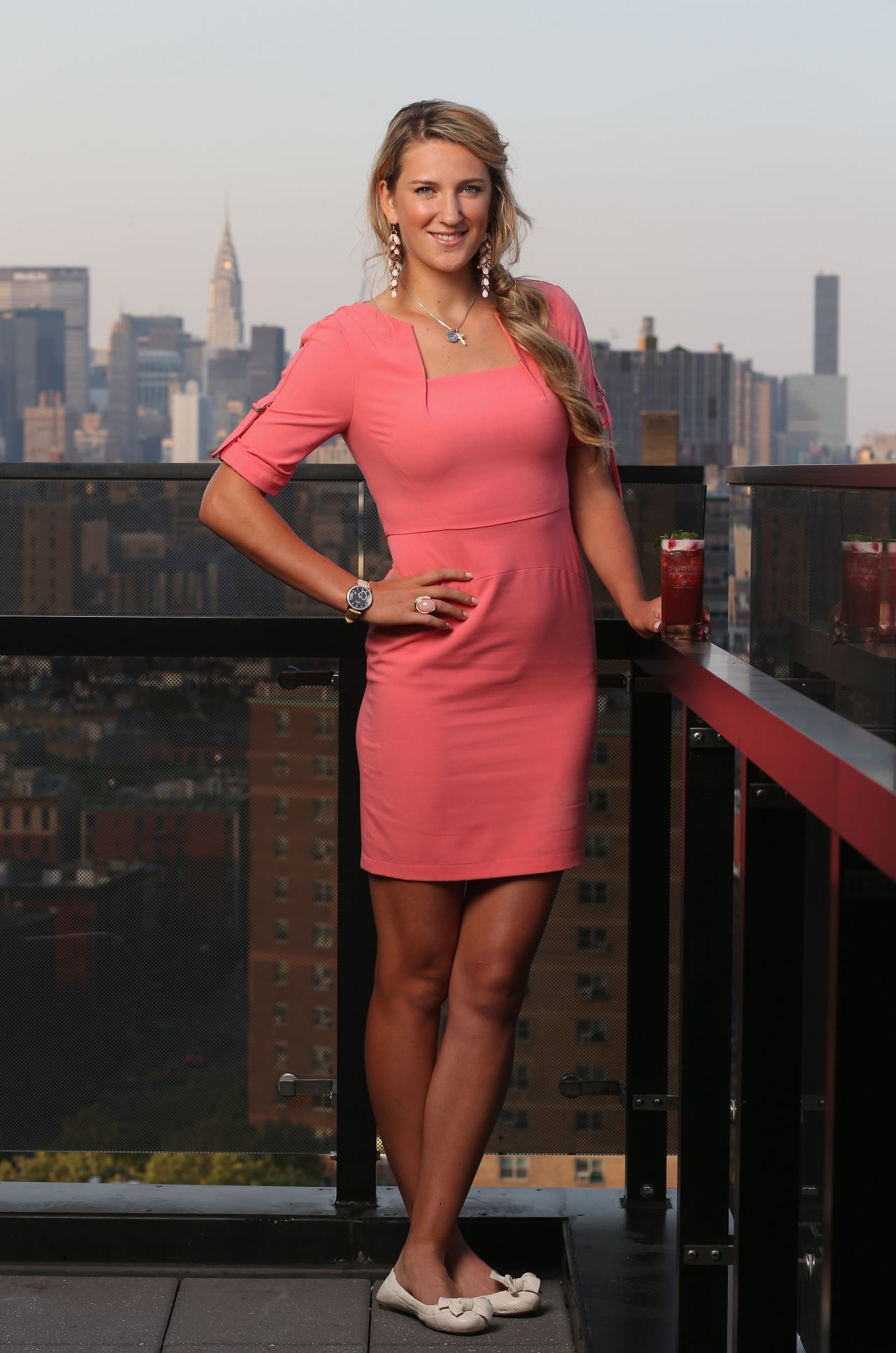 Victoria Azarenka - Photos from Bacardi Champions Drink Responsibly Manhattan - November 2013