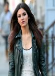 Victoria Justice - Filming EYE CANDY Pilot in New York City