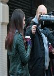 Victoria Justice - More Photos From The Set of EYE CANDY - New York City November 2013