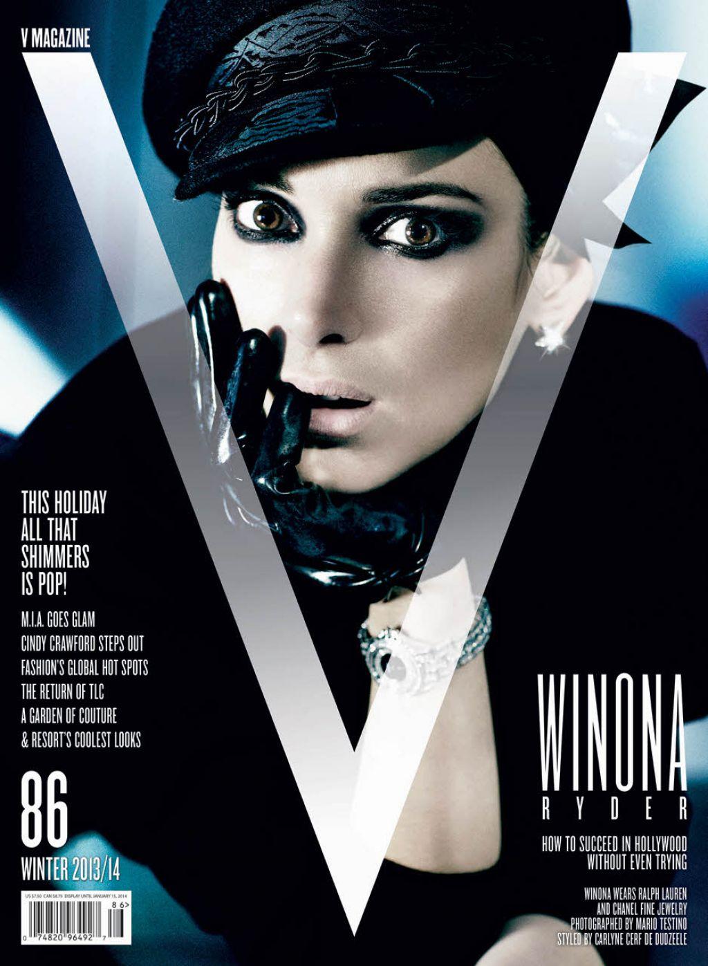 Winona Ryder - V MagazinePhotoshoot  - Winter 2013/2014
