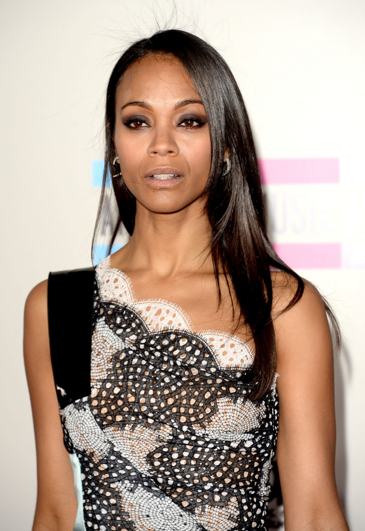 Zoe Saldana's Red Carpet Style - 2013 American Music ...
