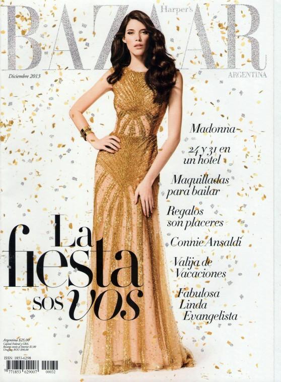 Carla Ciffoni - HARPER'S BAZAAR (Argentina) - December 2013 Issue