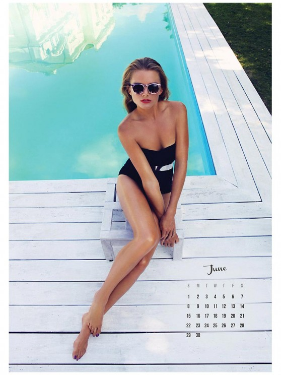 Daniela Hantuchova - 2014 Calendar Preview