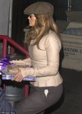 Jennifer Lopez Street Style - Out for Dinner at Craig's in West Hollywood - Dec. 2013