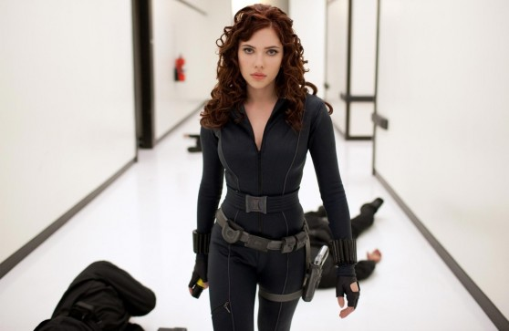 Scarlett Johansson as Natasha Romanoff / Black Widow GIF