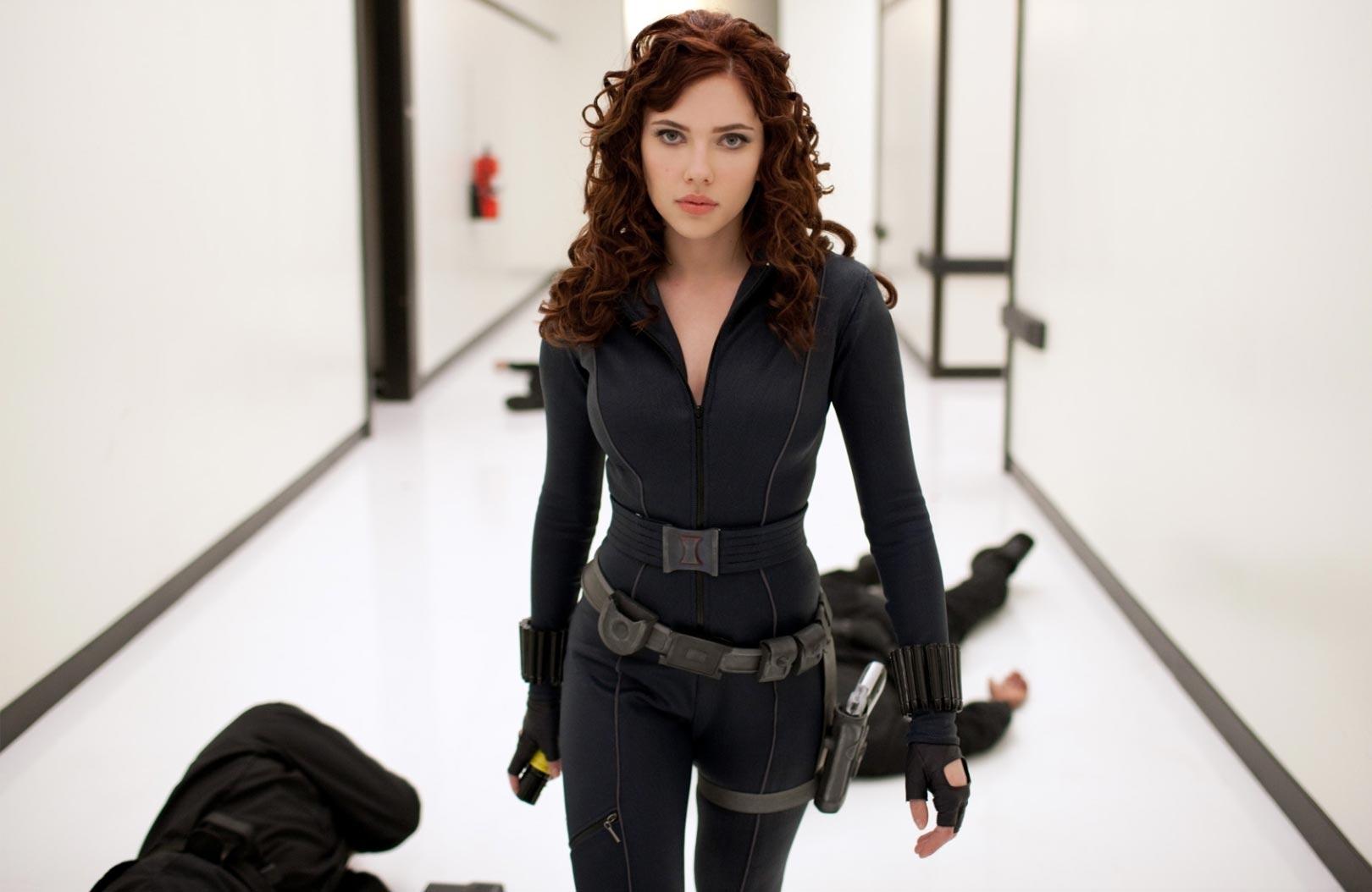 Scarlett Johansson As Natasha Romanoff Black Widow Gif