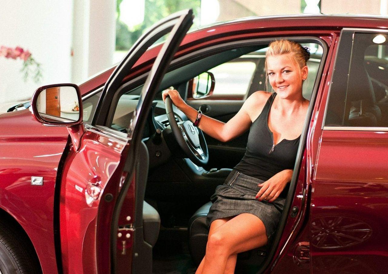 Agnieszka Radwanska Photoshoot for Lexus 2013