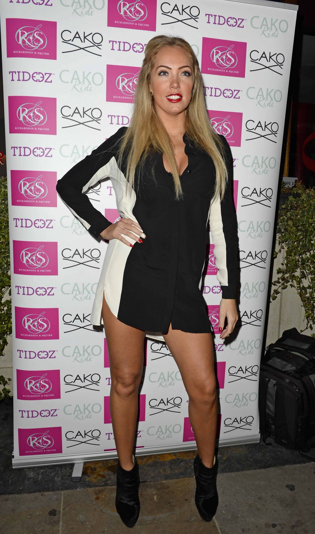 Aisleyne Horgan at Wallace Cako party in London - December 2013