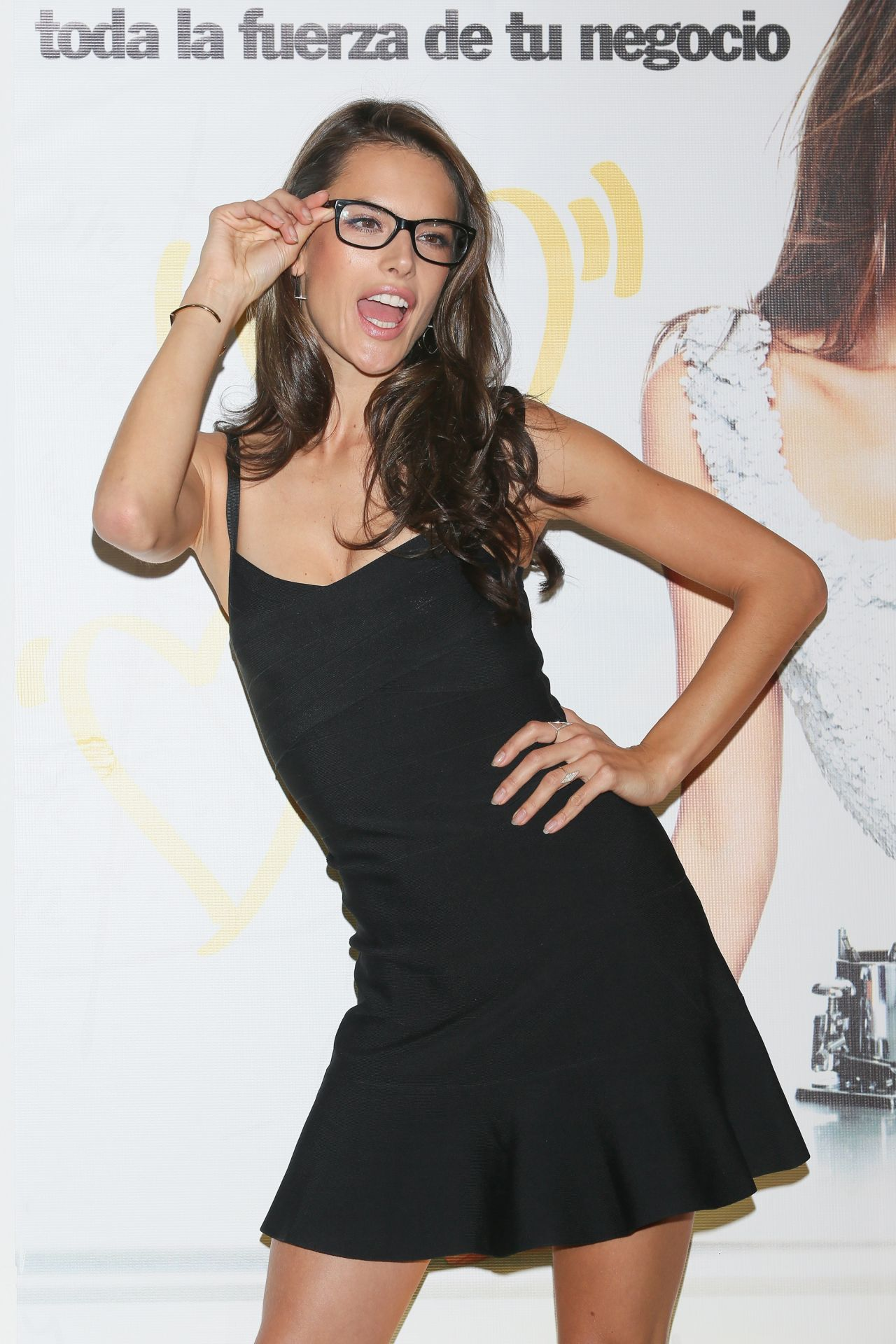 Alessandra Ambrosio at KIO Networks Campaign Promotion in Mexico City - December 2013