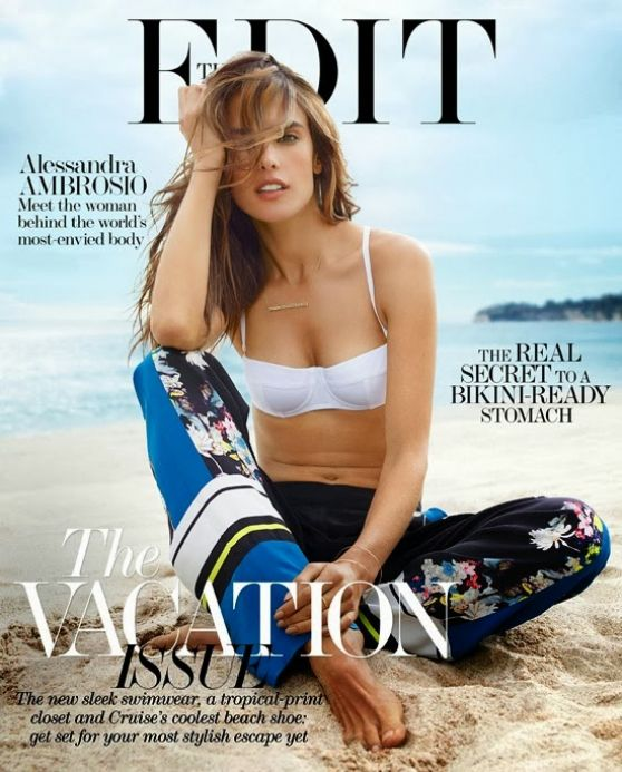 Alessandra Ambrosio - THE EDIT Magazine - December 2013 Issue
