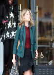 Ali Larter Street Style - at Barneys New York in Los Angeles - December 2013