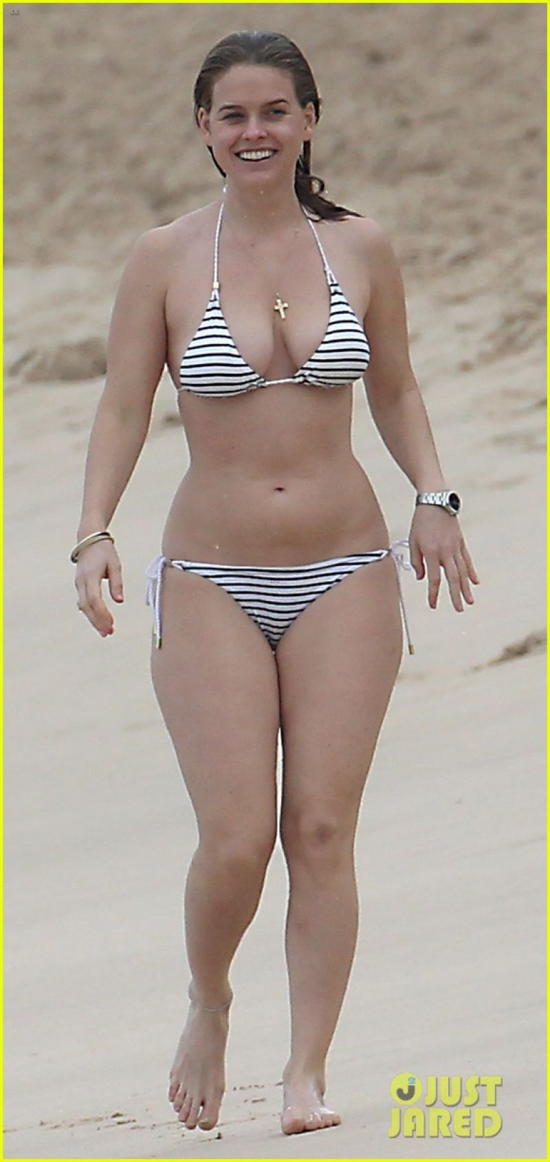 Alice Eve in a Bikini - Barbados - December 2013
