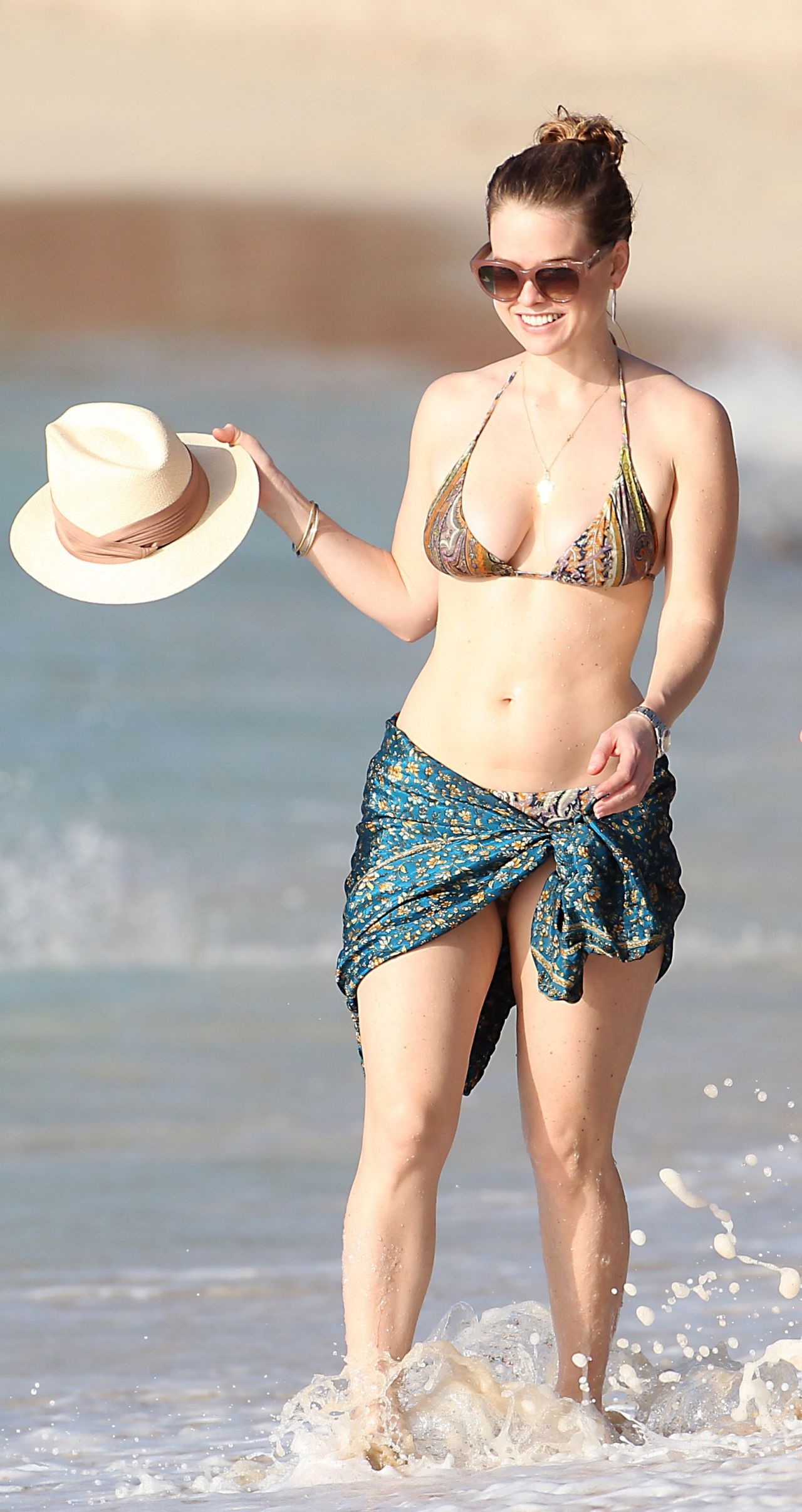 Alice Eve In A Bikini Barbados Part Two December 2013