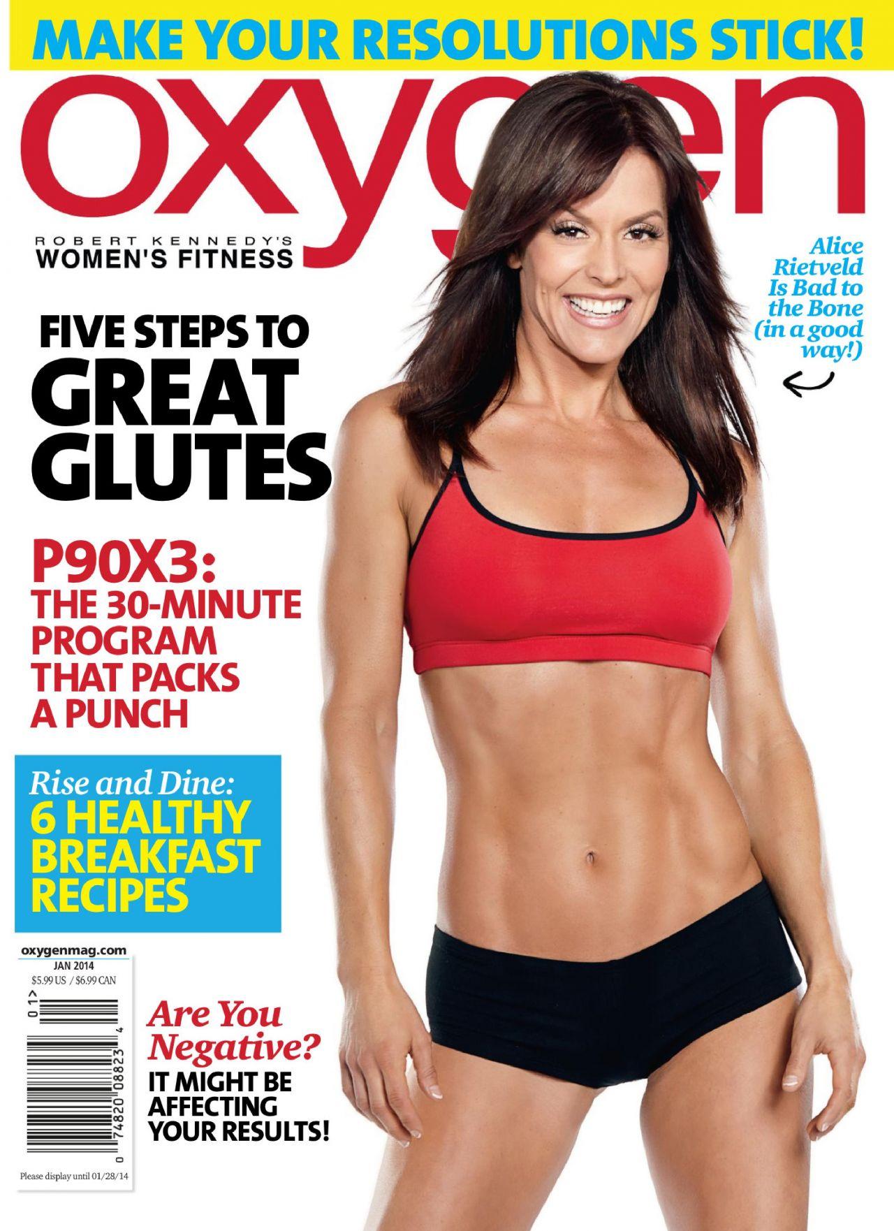 Alice Rietveld - OXYGEN Magazine (USA) - January 2014 Issue