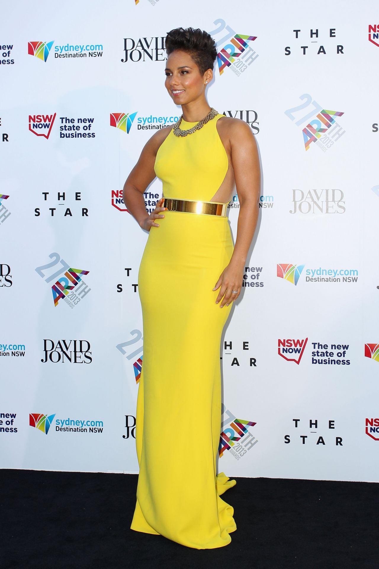 Alicia Keys Bikini 2013 Alicia Keys   27th Annual ARIA
