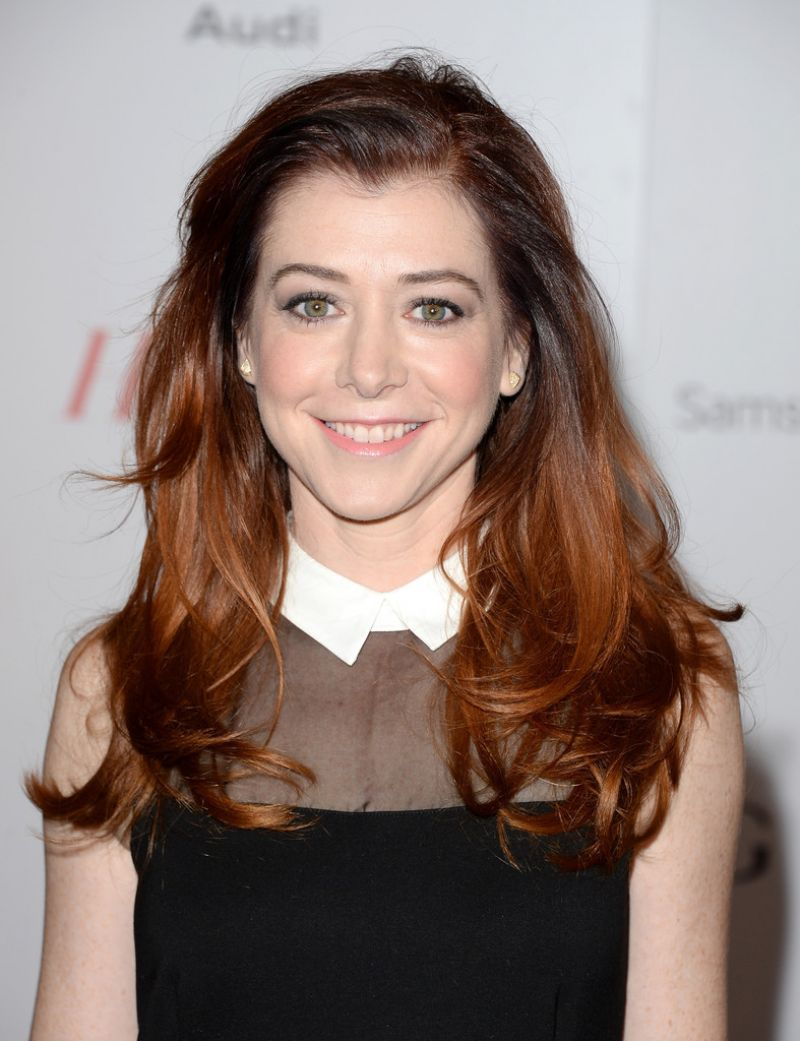 Alyson Hannigan on Red Carpet - THR