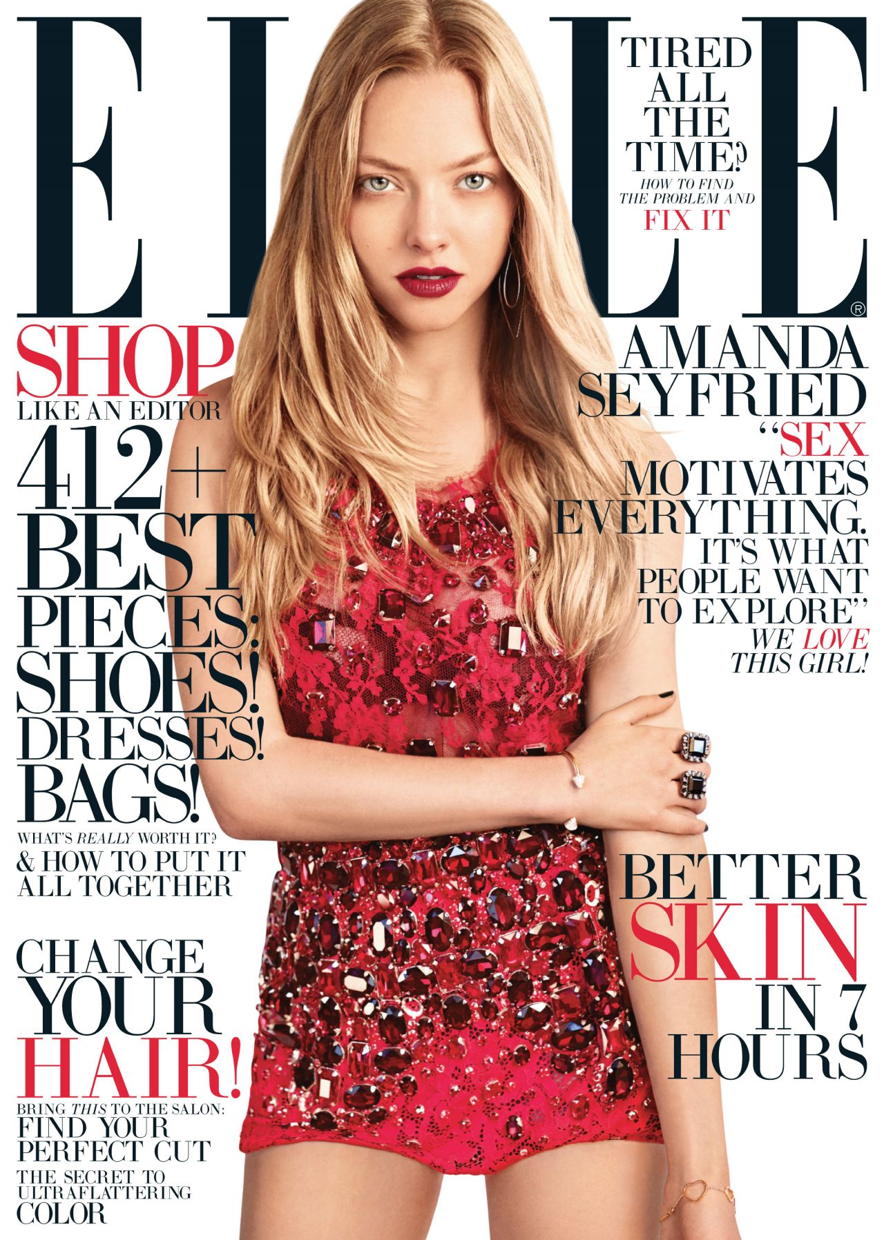 Elle Magazine France February March: August 2013 Issue