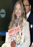 Amanda Seyfried Without Mmake up - South Korea - December 2013
