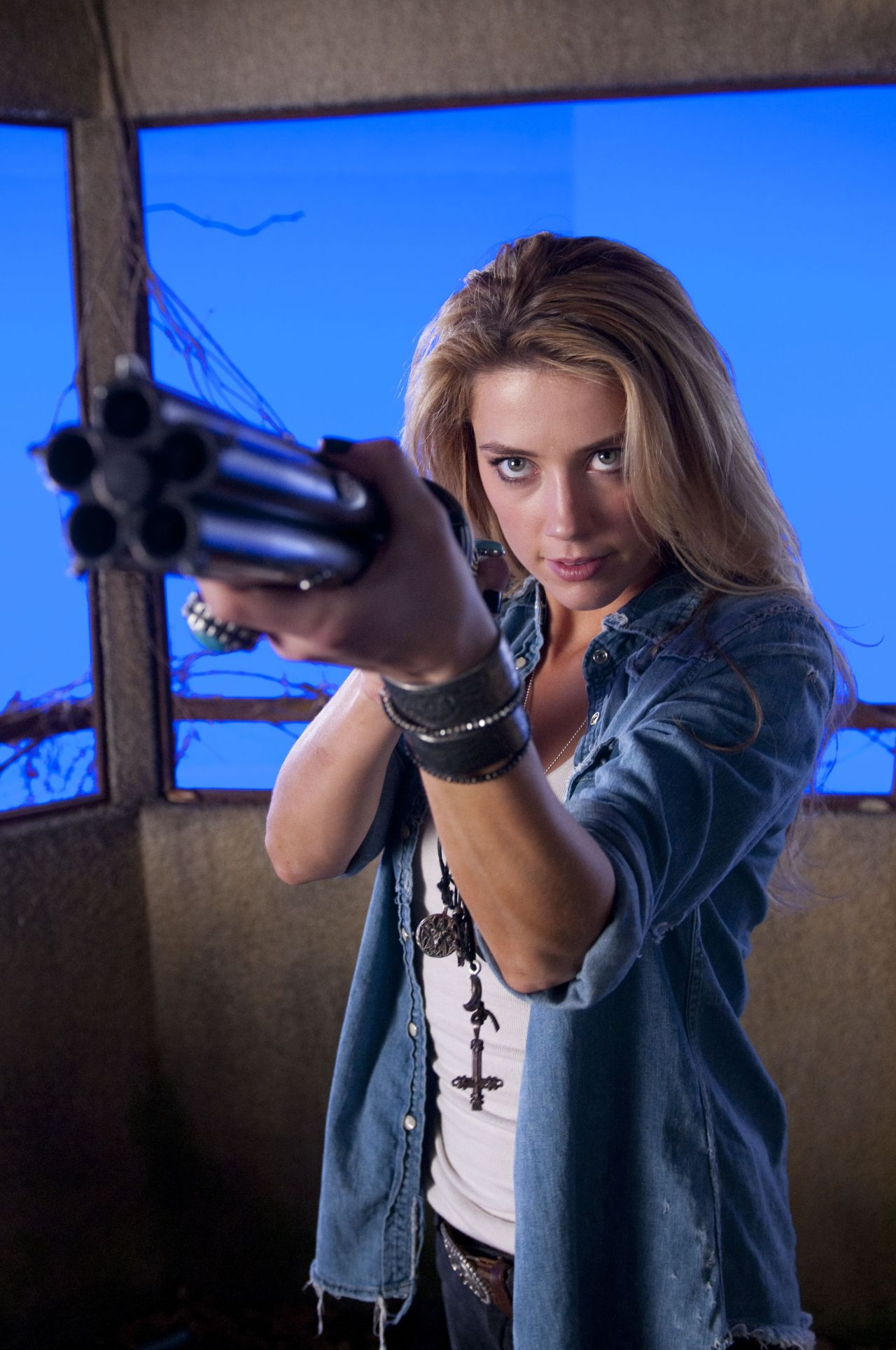 Amber Heard - DRIVE ANGRY Movie Photos Amber Heard Movies
