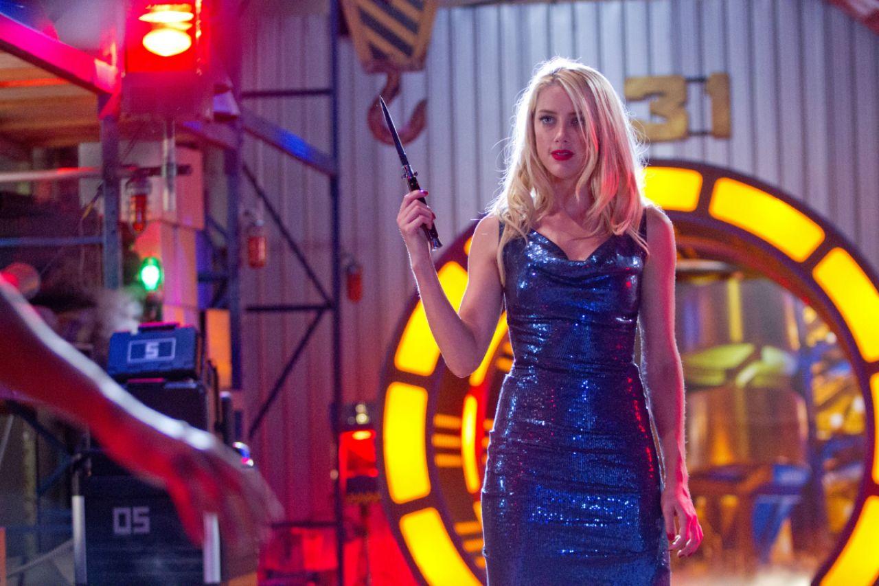 Amber Heard Machete Kills Movie Poster And Photos
