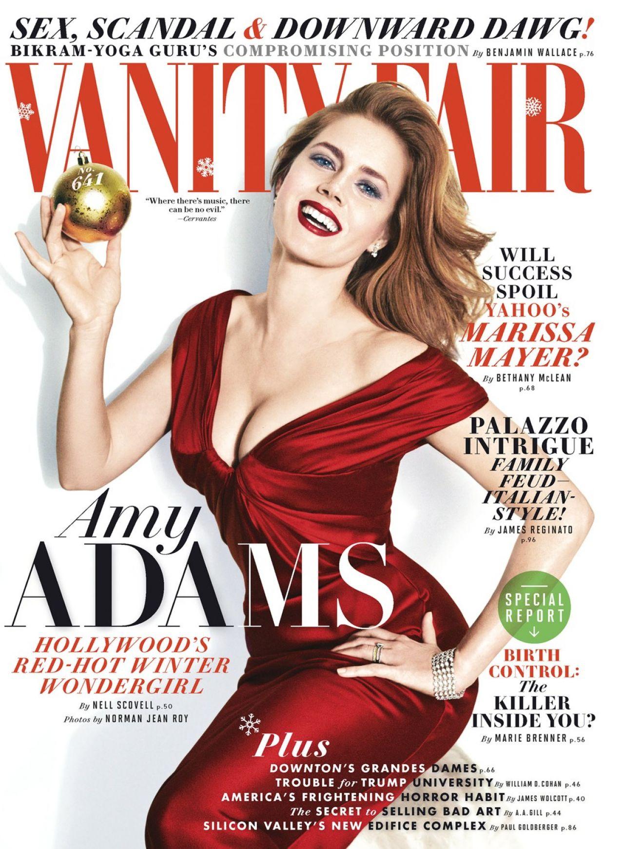 Amy Adams -  VANITY FAIR Magazine - January 2014 Issue - N. J. R. Photoshoot