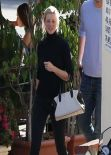 Amy Smart Street Style - Out in West Hollywood - December 2013
