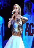 Ariana Grande at 106.1 KISS FM Jingle Ball 2013 in Dallas - December 2013