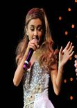 Ariana Grande Performing  at Wild Jam in San Jose - December 2013