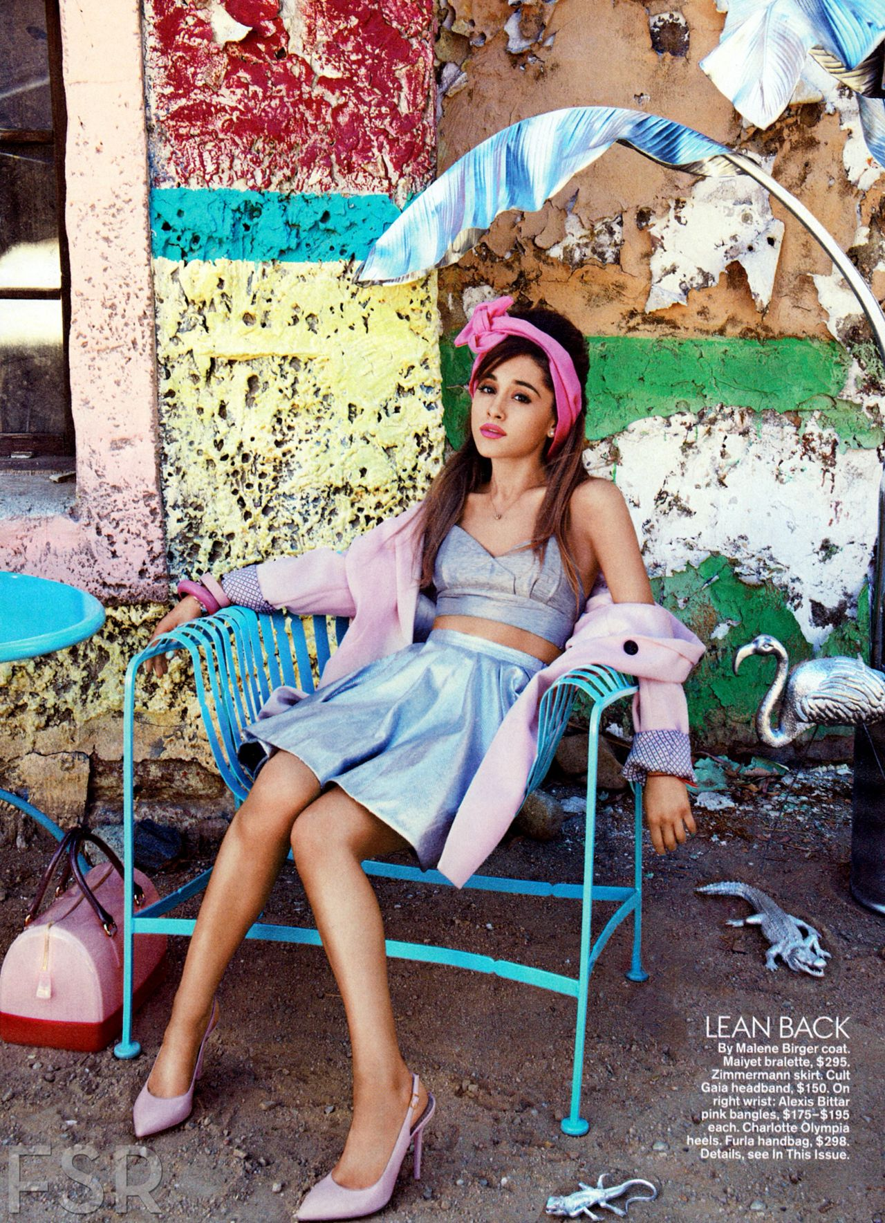 ariana grande photoshoot for teen vogue february 2014 issue