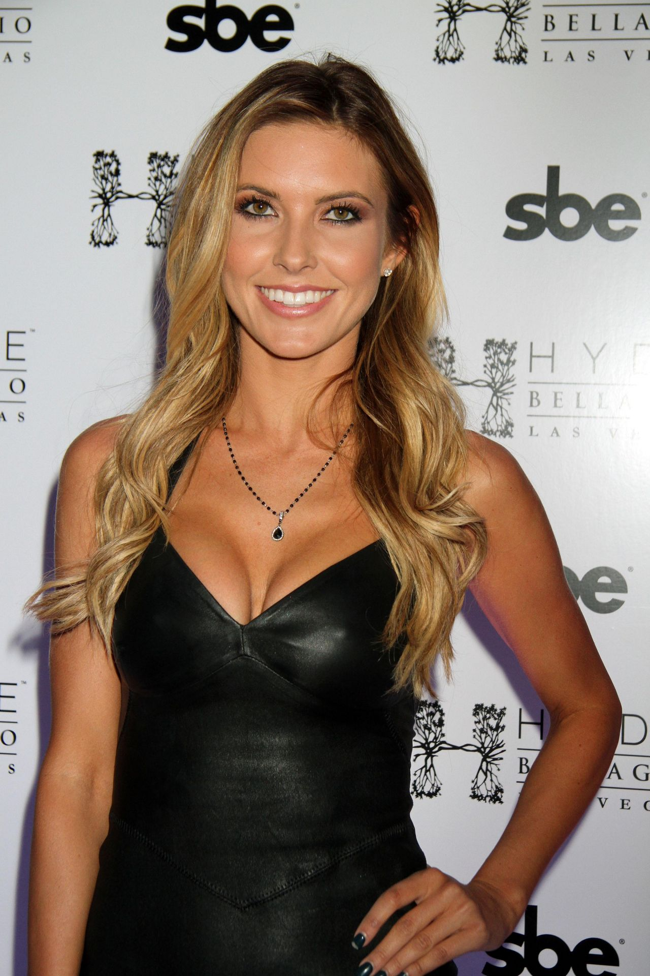 Audrina Patridge at Hyde Bellagio in Vegas - December 2013