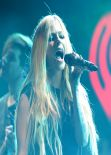 Avril Lavigne Performs at Y100 Jingle Ball in Miami