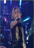 Avril Lavigne Performs on Q102