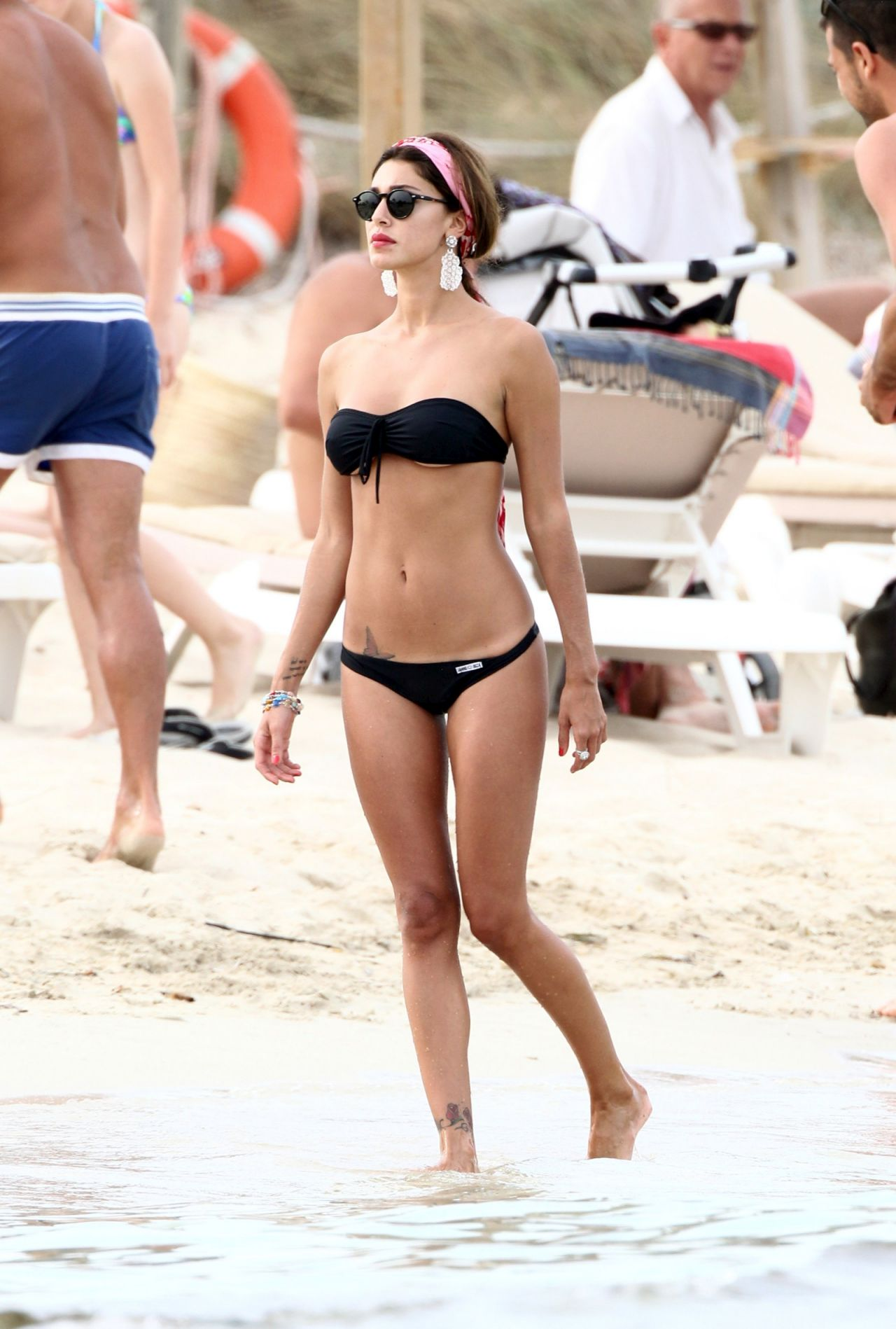 Belen Rodriguez in a Bikini - Forte Dei Marmi - Italy