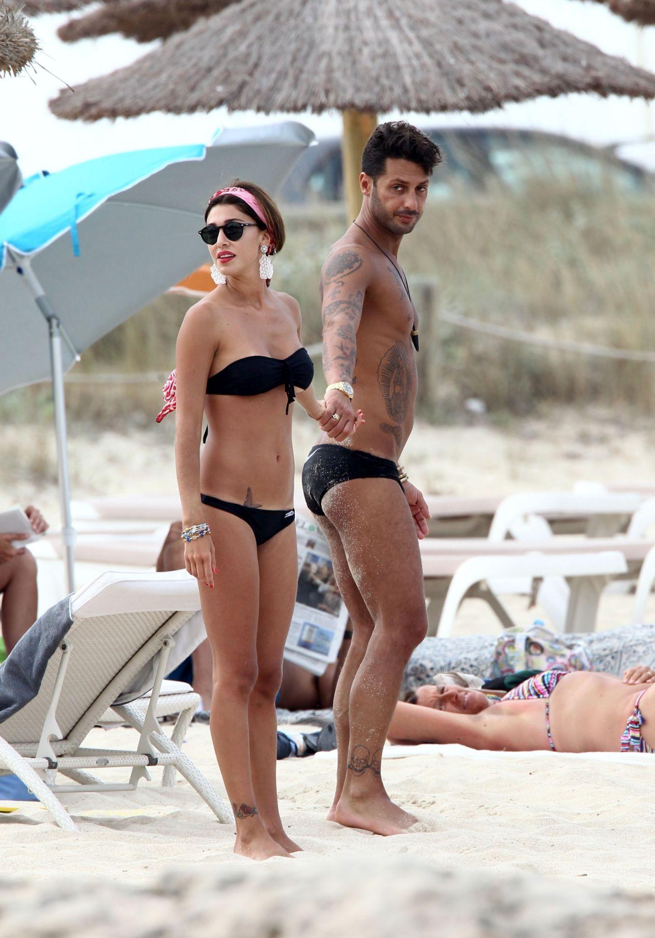 Belen Rodriguez In A Bikini Forte Dei Marmi Italy